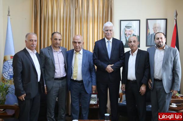 وزير التربية والمفوض السياسي العام يتفقان على توسيع التعاون المشترك