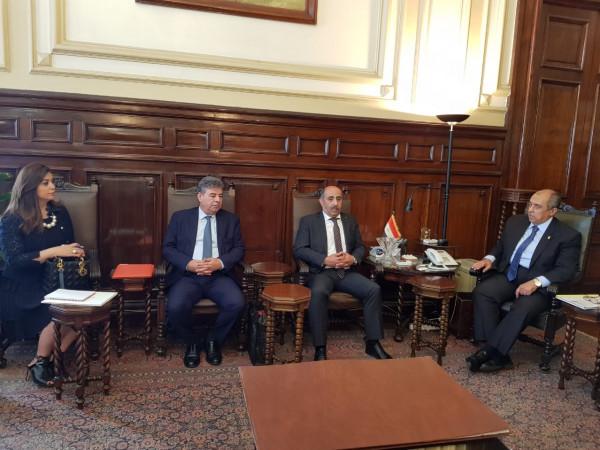 وزير الزراعة يبحث مع نظيره المصري آفاق التعاون المستقبلي بمختلف المجالات الزراعية