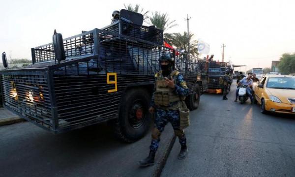 العراق يفتح طريقا رئيسيا عقب ليلة هادئة بعد أسبوع من الاحتجاجات