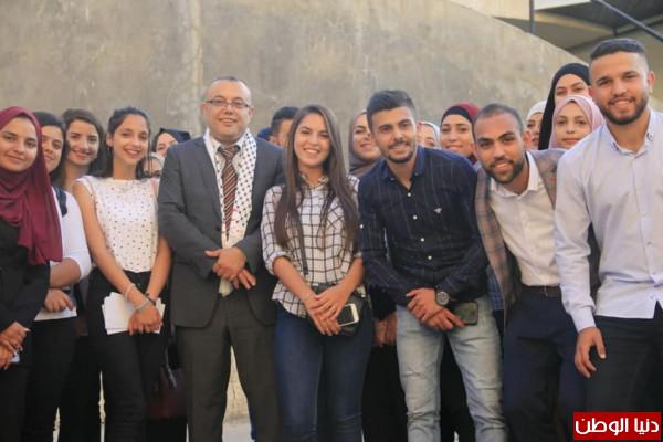 أبو سيف يفتتح أسبوع التراث الفلسطيني في جامعة بيرزيت