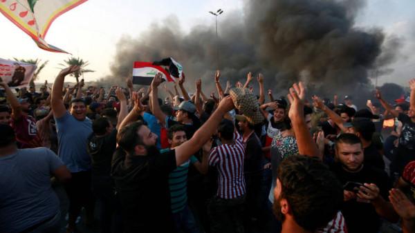 بدءاً من الخميس.. العراق يعلن الحداد على أرواح ضحايا الاحتجاجات لثلاثة أيام