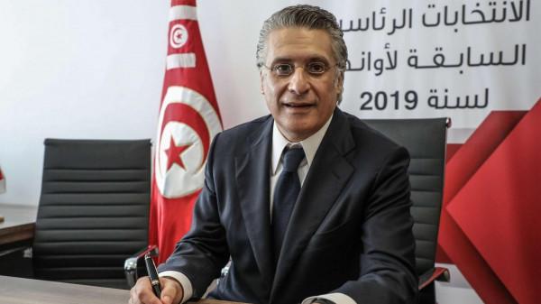 شاهد: لحظة الإفراج عن المرشح الرئاسي التونسي نبيل القروي