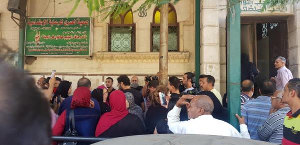 هنا الزاهد وأحمد فهمي في مقدمة مشيعي طلعت زكريا