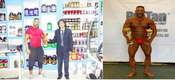 """""""هشام قزل"""" من الجليل يحصل على بطولة العالم في رياضة كمال الأجسام"""