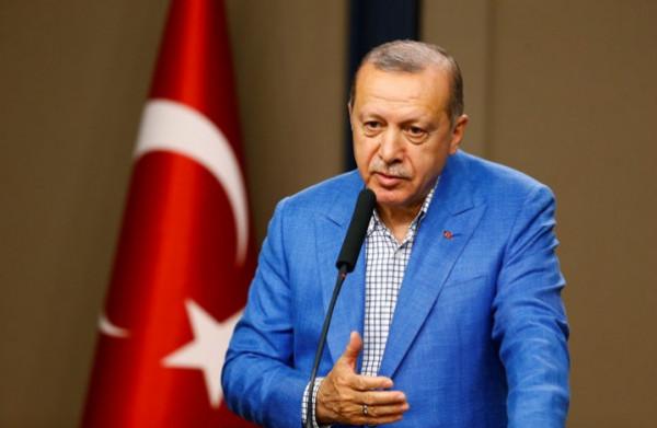 """أول خطاب لأردوغان بعد بدء عملية """"نبع السلام"""" شمال سوريا"""