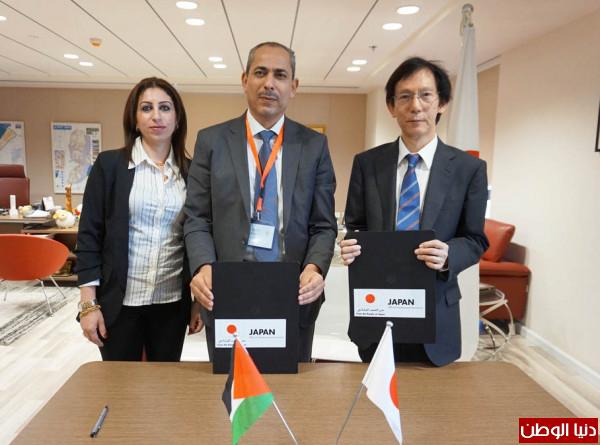 توقيع ستة عقود منح ضمن برنامج المشاريع الأهلية الممول من (اليابان)