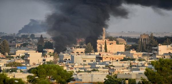 مقتل أربعة أشخاص بسقوط قذيفة أُطلقت من سوريا على بلدة تركية