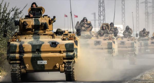 الجيشان التركي والسوري يسيطران على بلدتي رأس العين وتل أبيض شمال سوريا