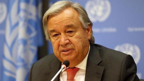 غوتيريش: من الضروري للغاية وقف التصعيد في سوريا