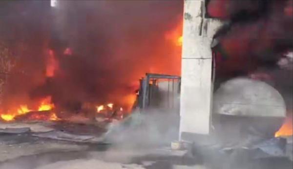 حريق هائل في سجن للنساء بالكويت