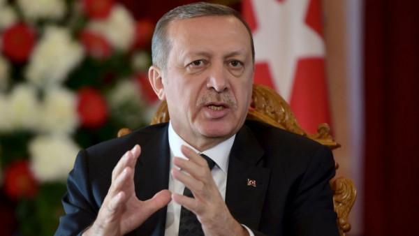 أردوغان: لن نوقف عمليتنا العسكرية ضد الوحدات الكردية بسوريا