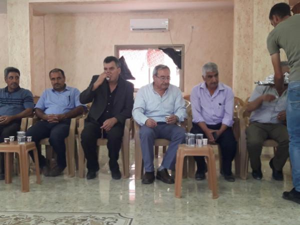 الجبهة الديمقراطية لتحرير فلسطين تقدم التعازي بوفاة الرفيق النقابي جمال ابو الرب