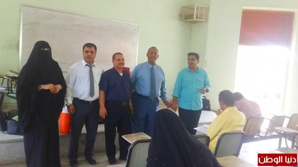 كلية التربية عدن تدشن إمتحانات المفاضلة في مساق الماجستير والدكتوراه
