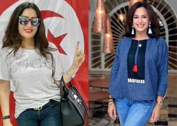 رسالة هند صبري ولطيفة لأبناء شعبهما بعد انتخابات تونس