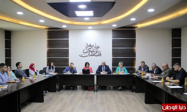 جامعة بوليتكنك فلسطين تستقبل وفداً من البنك الدولي