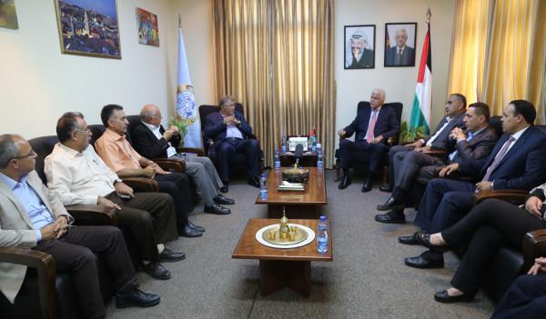 """""""التربية"""" وجامعة القدس تؤكدان على التكاملية لخدمة التعليم"""