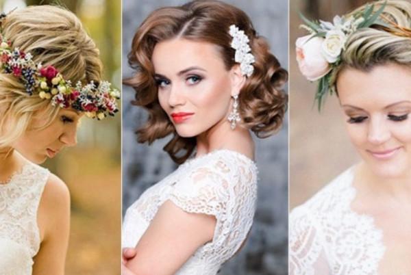 4 تسريحات تناسب العروس ذات الشعر القصير