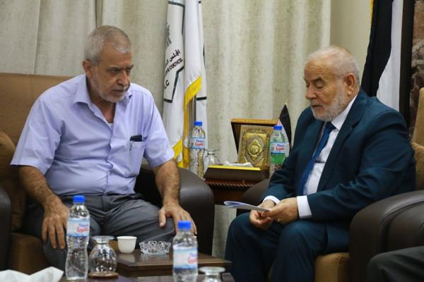 أحمد بحر يُناشد الملك سلمان الإفراج عن قيادات حماس المعتقلين بالسعودية