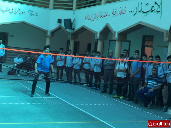 الثانوية الإسلامية تتوج في بطولة الريشة الطائرة للمرحلة الأساسية العليا