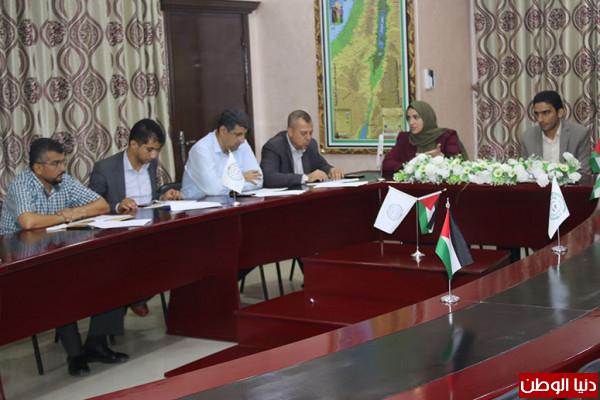 انطلاق اجتماعات اللجنة العلمية للمؤتمر العلمي الدولي الرابع لكلية الإعلام بجامعة فلسطين