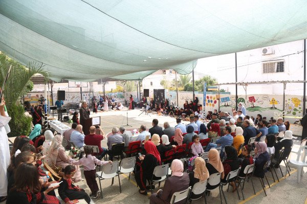 مدرسة الجاروشية وتحت رعاية أبو بكر تنظم فعالية بمناسبة يوم التراث الفلسطيني