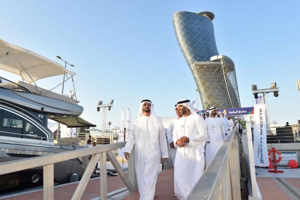 """انطلاق فعاليات النسخة الثانية من معرض أبوظبي الدولي للقوارب في """"أدنيك"""""""