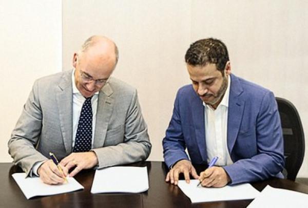 توقيع اتفاقية ترخيص تصميم حفار(Jack-Up) بين كلًا من شركة (IMI) وشركة (GustoMSC)