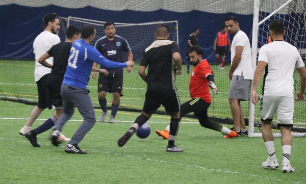 """النادي الفلسطيني الأمريكي يُطلق """"حملة اللعب للجميع"""" لأبناء الجالية في شيكاغو"""