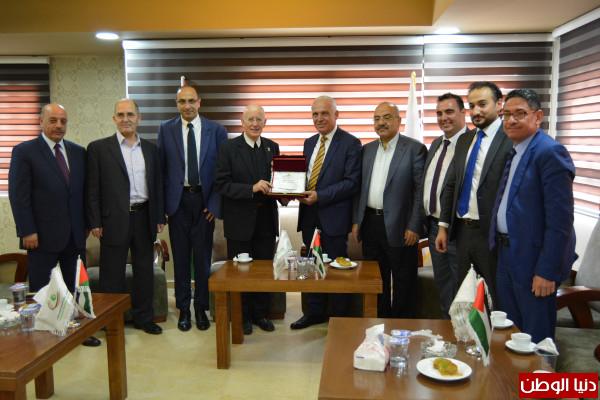 لقاء بين ملتقى رجال الاعمال الفلسطيني وجامعة بيت لحم