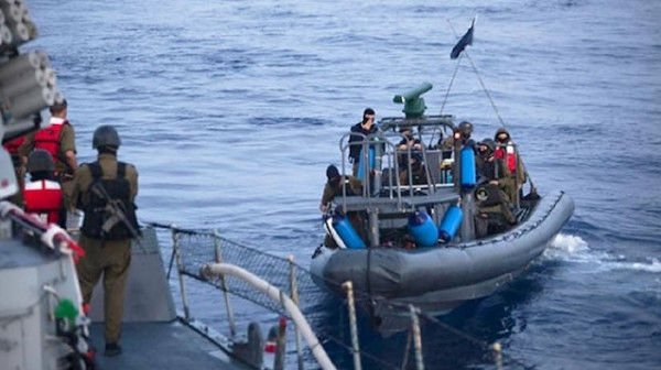 بحرية الاحتلال تطلق النار على الصيادين في بحر غزة