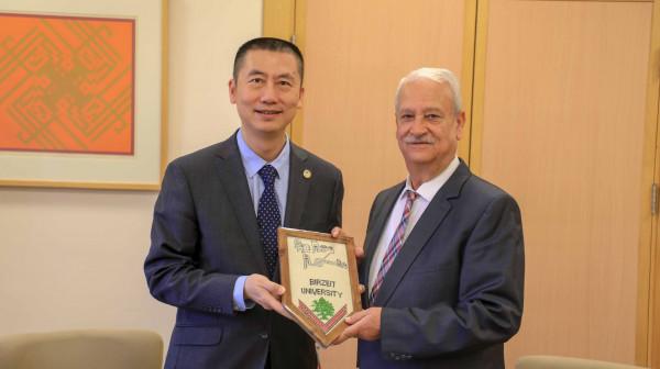 توسيع آفاق التعاون بين جامعة بيرزيت ونخبة من الجامعات الصينية