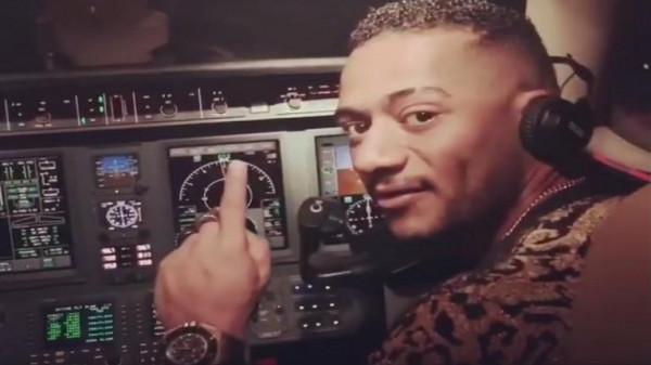 إلغاء رخصة طيار واقعة محمد رمضان مدى الحياة