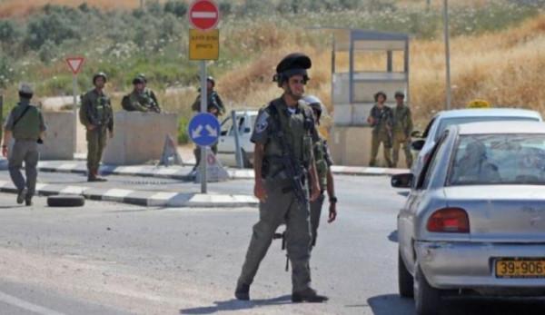 """جيش الاحتلال يُغلق شارع """"رام الله-نابلس"""" لتأمين ماراثون للمستوطنين"""