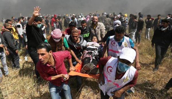 إصابات جراء قمع الاحتلال مسيرات الجمعة في الضفة وغزة