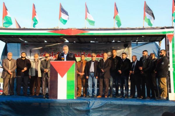 هيئة مسيرات العودة تدعو الرئيس التونسي الجديد لزيارة غزة