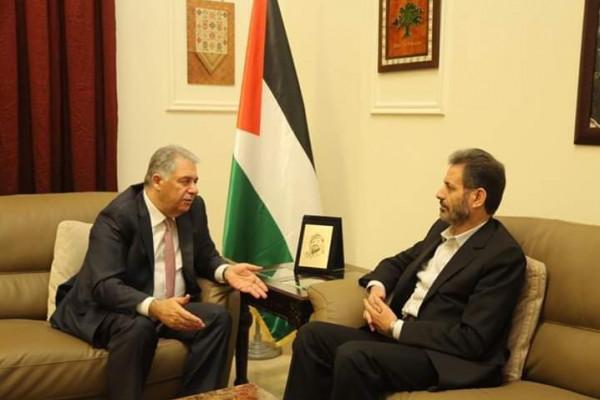 عطايا يلتقي دبور: لتنسيق المواقف خدمةً لأبناء شعبنا الفلسطيني