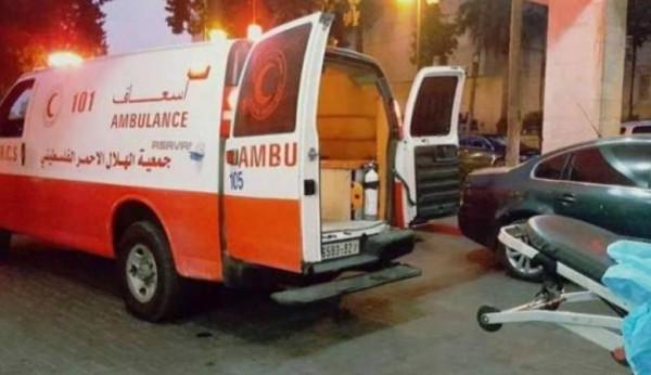 إصابة 11 مواطنا بينهم خمسة أطفال في حادث سير قرب نابلس