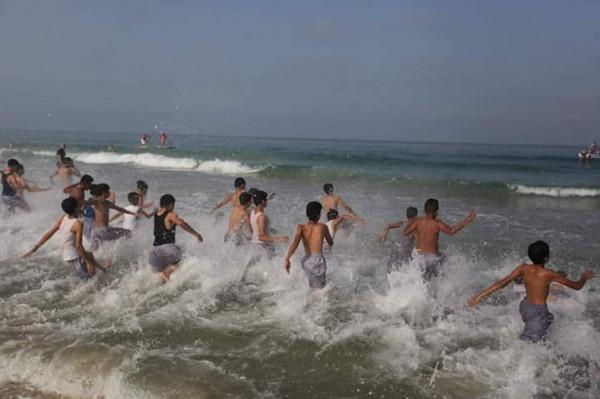 اختتام بطولة السباحة للمياه المفتوحة