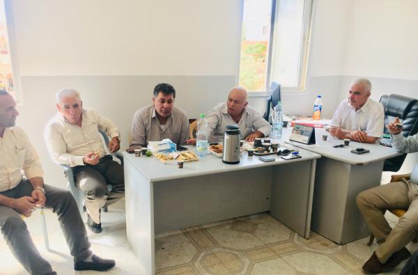 الجبهة العربيه الفلسطينية تنظم حفل استقبال بمناسبة ذكرى الانطلاقه في محافظة طوباس