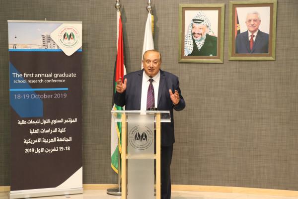 """""""أبو مويس"""" يؤكد على ضرورة أن تكون أولوية الأبحاث العلمية لخدمة التنمية المستدامة"""