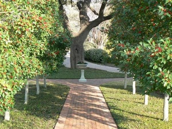 تصميم الحدائق: الممرات المستقيمة تضفي شعورا بصريا بالاتساع