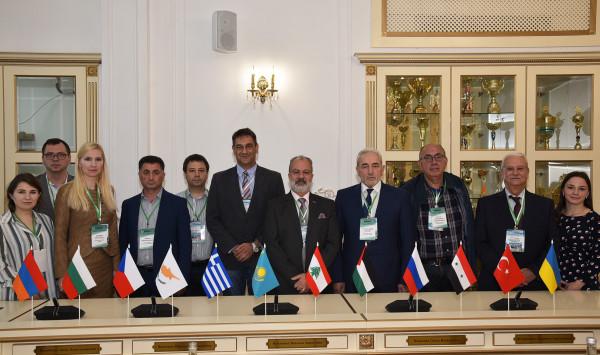 """مشاركة فاعلة لـ""""القدس المفتوحة"""" باجتماع الجمعية العامة الثاني للشبكة الأكاديمية لدول البحرالأسود"""