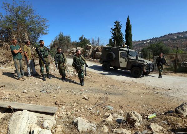 مستوطنون يعتدون على قاطفي الزيتون ومتضامنين أجانب جنوب بيت لحم