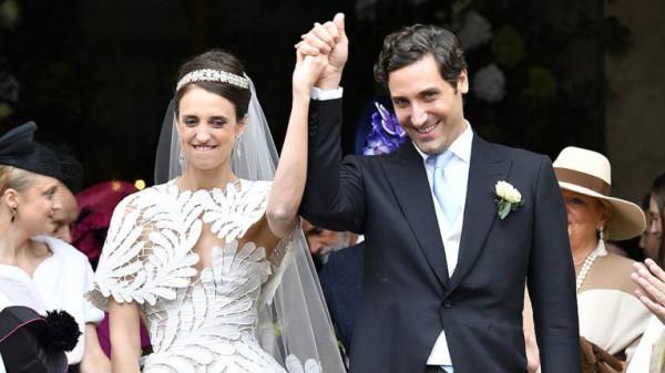 زواج وريث (نابليون بونابرت) من الكونتيسة أولمبيا في حفل فخم بباريس