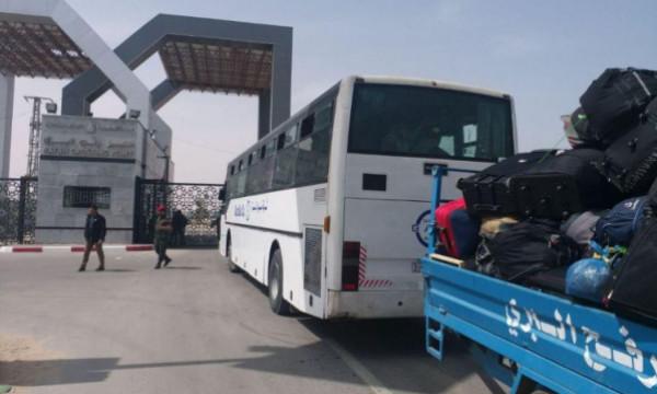"""طالع.. """"الداخلية"""" بغزة تكشف أسماء المسافرين عبر معبر رفح ليوم الإثنين"""