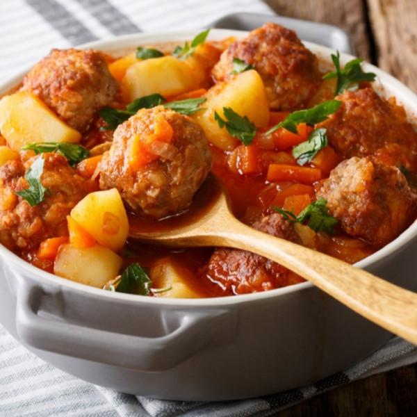 إيدام البطاطس مع كرات اللحم 9999000526
