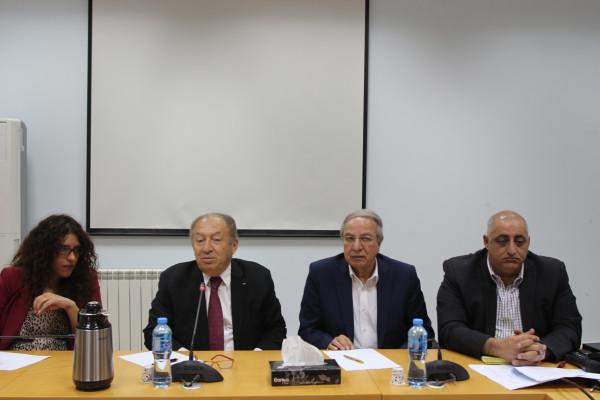 بحث تحضيرات انعقاد اللجنة الفلسطينية الروسية المشتركة