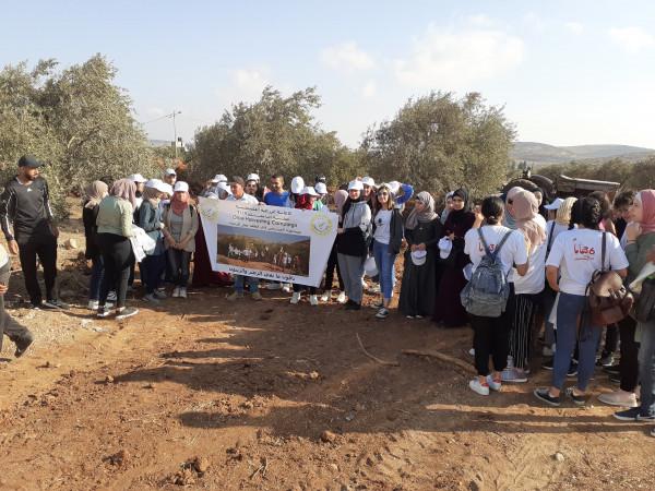 الإغاثة الزراعية بالتعاون مع جامعة بيرزيت تنظم حملة تطوعية لمساعدة المزارعين