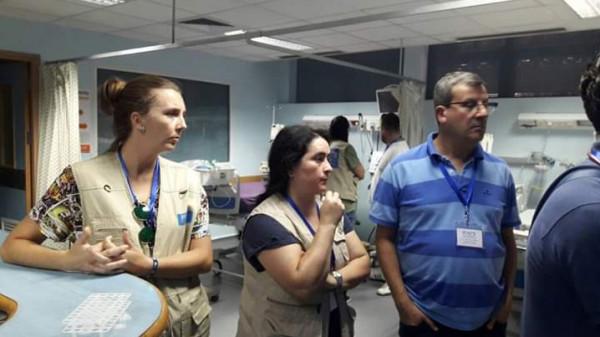وفدان طبيان اسبانيان يجريان عمليات معقدة ونوعية بمستشفى الأوروبي