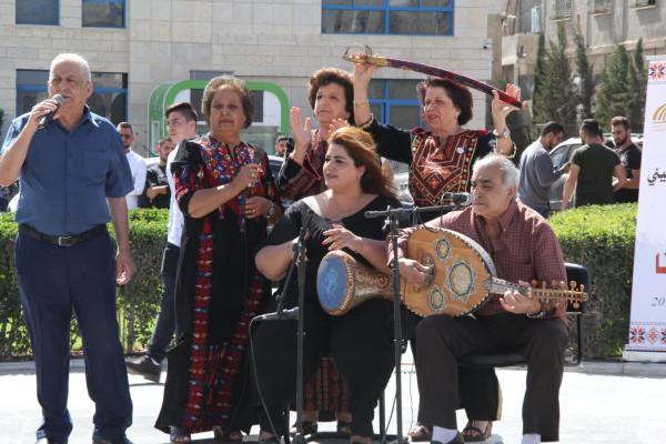 بيت لحم تحتفل بيوم التراث الفلسطيني